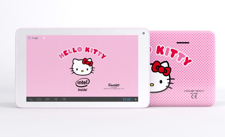 Sevgiliye Hometech Hello Kitty Tablet