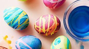 3 - 5 Yaş Rengarenk Yumurtalar