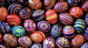 9-12 Dekoratif Paskalya Yumurtalar