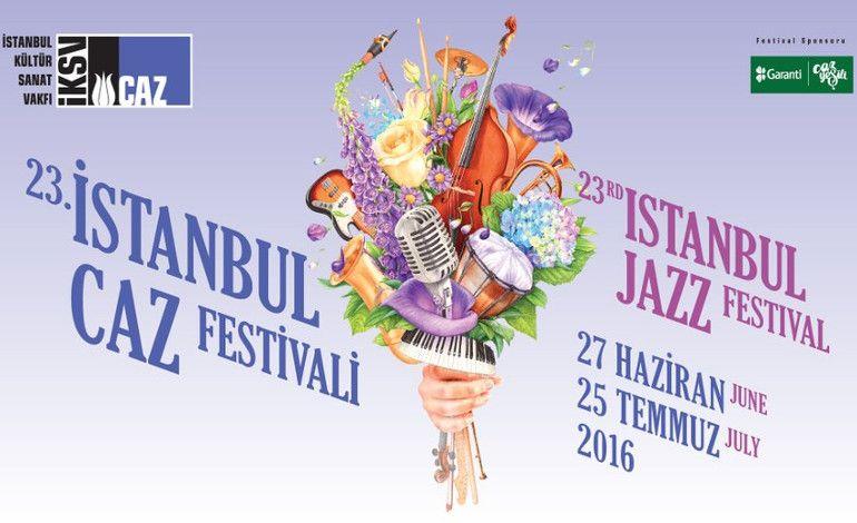 23. İstanbul Caz Festivali Biletleri Satışa Çıkıyor