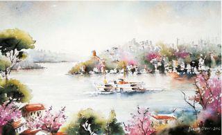 Baharın Getirdikleri Resim Sergisi