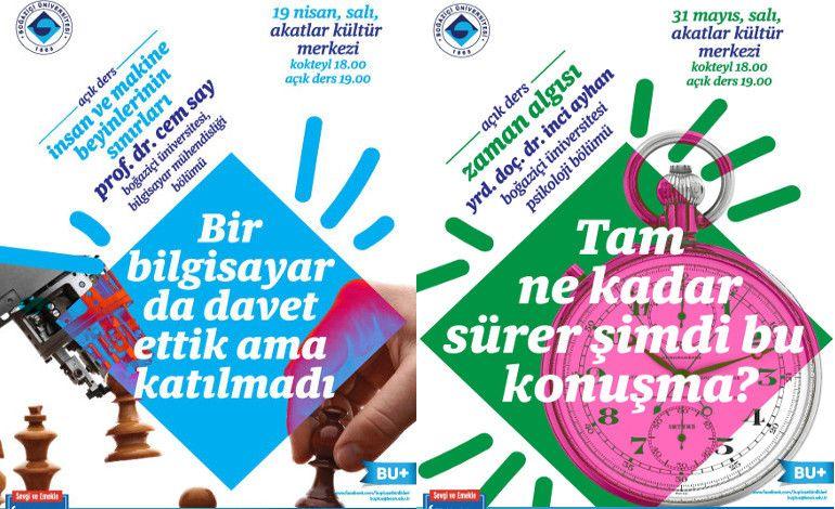 Boğaziçi Üniversitesi'nden Halka 'Açık Ders'ler!