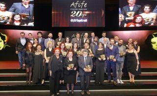 Yapı Kredi Afife Tiyatro Ödülleri 20. Kez Sahiplerini Buldu!