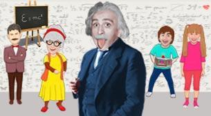 Zaman Makinesi 2 - Albert Einstein