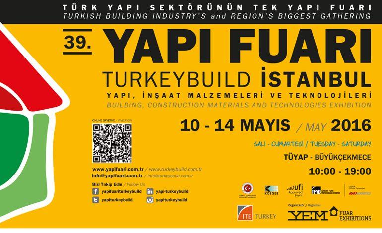 39.Yapı Fuarı – Turkeybuild İstanbul Başladı!