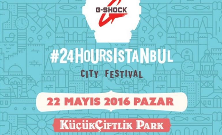 Casio G-Shock #24hoursistanbul