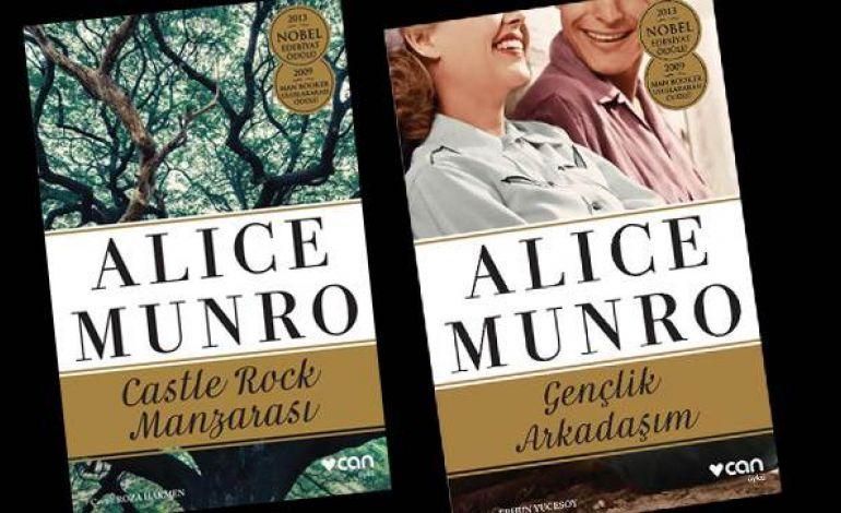 Nobel Ödüllü Yazar Alice Munro'dan İki Yeni Öykü Kitabı