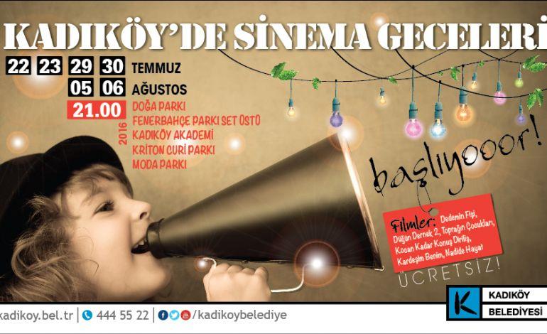 Kadıköy'de Sinema Geceleri Başladı