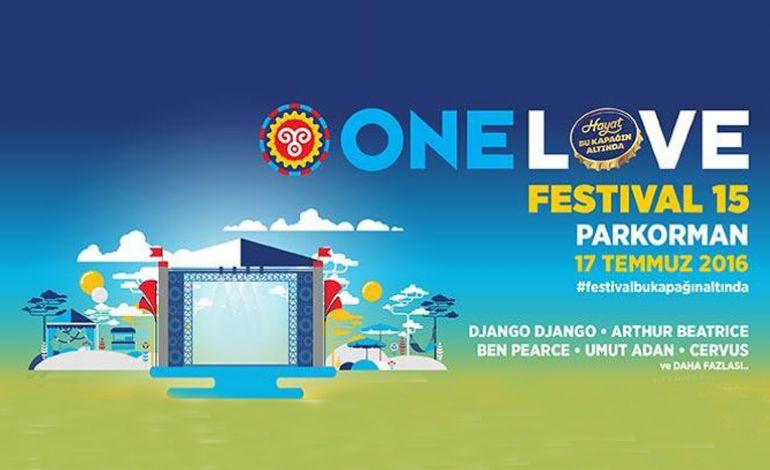 One Love Festival 15 - İPTAL