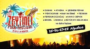 Zeytinli Rock Fest - Kamp + Kombine