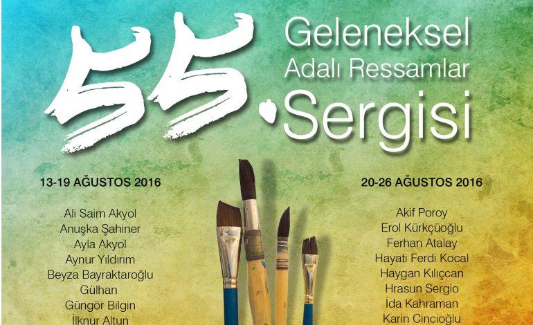 55. Geleneksel Adalı Ressamlar Sergisi