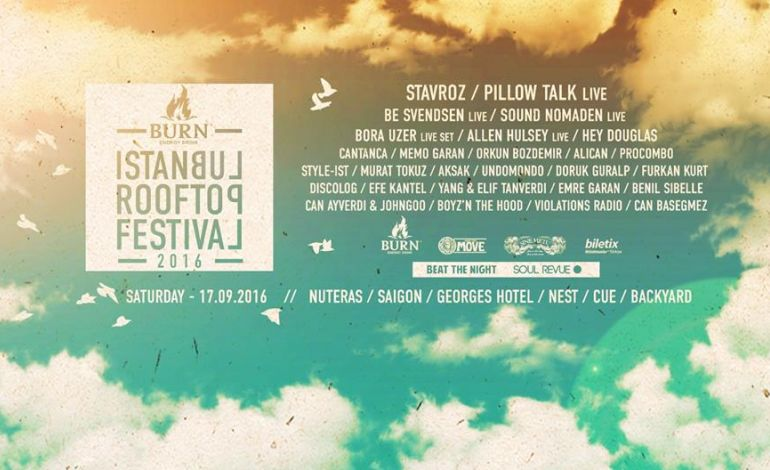 Burn İstanbul Rooftop Festival 2016