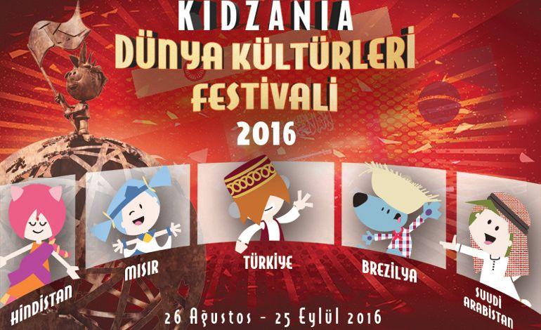 """KidZania """"Dünya Kültürleri Festivali 2016"""" Başlıyor!"""