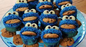 5 - 8 Yaş Canavar Cupcakeler