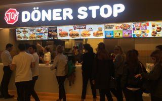 Döner Stop Zorlu Center'da Açıldı