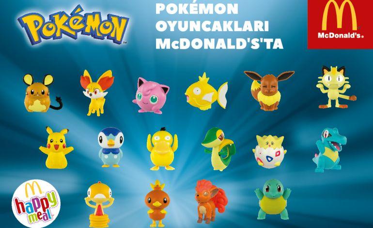 Pokemon Oyuncakları McDonald's'larda