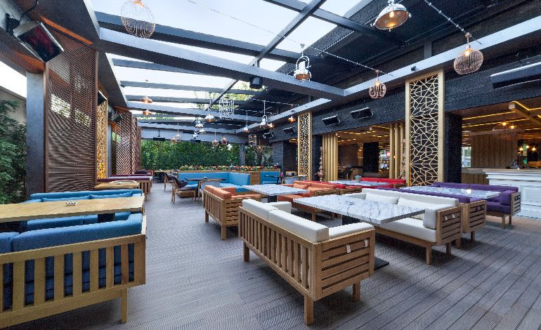 Şehrin Merkezindeki Mola Yeri PS Lounge