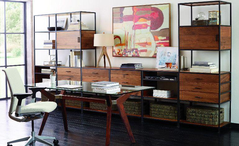 Crate And Barrel'in Ofis Koleksiyonu İle Çalışma Odalarınızı Yenileyin!