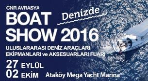 CNR Avrasya Boat Show - On The Sea