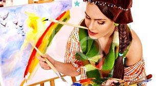 Günübirlik Yağlı Boya Resim Dersi