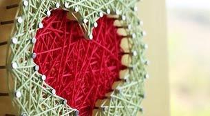 Masterpiece String Art - Kalp