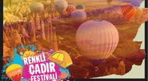 Renkli Çadır Festivali/Kapadokya