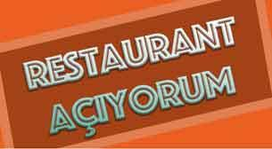 Restaurant Açıyorum