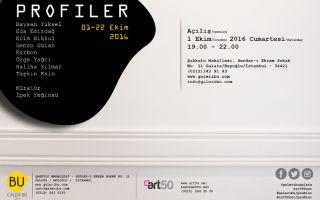 Art50.Net Ve Galeribu'dan PROFILER Sergisi