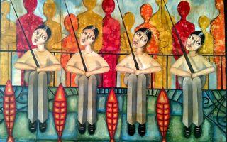 Maria Kokkini ''Why?'' Resim Sergisi