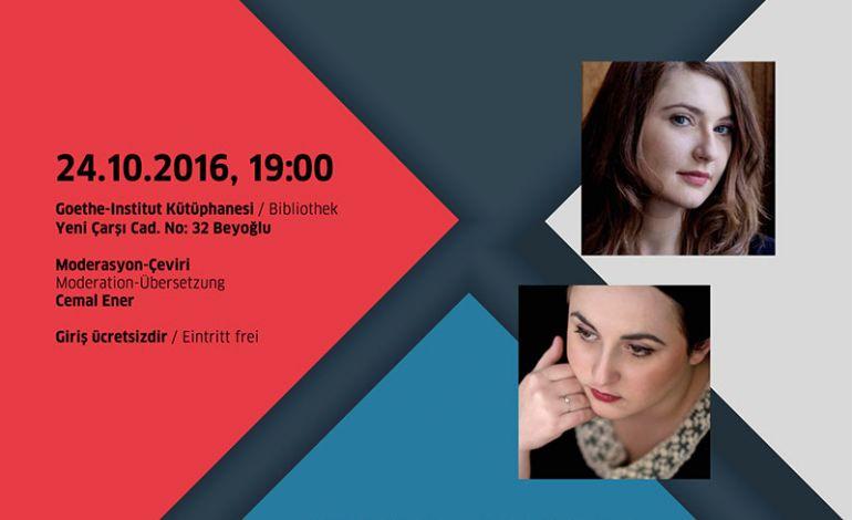 Olga Grjasnowa ve Nino Haratischwili Okuma Etkinliği