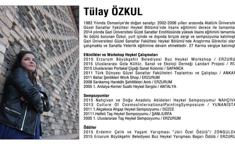 Tülay Özkul 'Kaosta Aşk' Heykel Sergisi