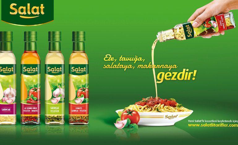 Salat'ın Yeni Lezzet Serisi İle Sofralarda Büyük Yenilik