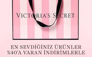 Victoria's Secret Güzellik Ve Aksesuar Ürünlerinde Ara Sezon İndirimi!
