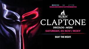 Burn Energy Drinks present:Claptone