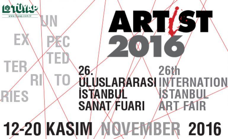 Artist 2016 / 26. Uluslararası İstanbul Sanat Fuarı Açılıyor