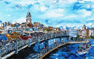 Ned Pamphilon'un Yeni İstanbul Sergisi