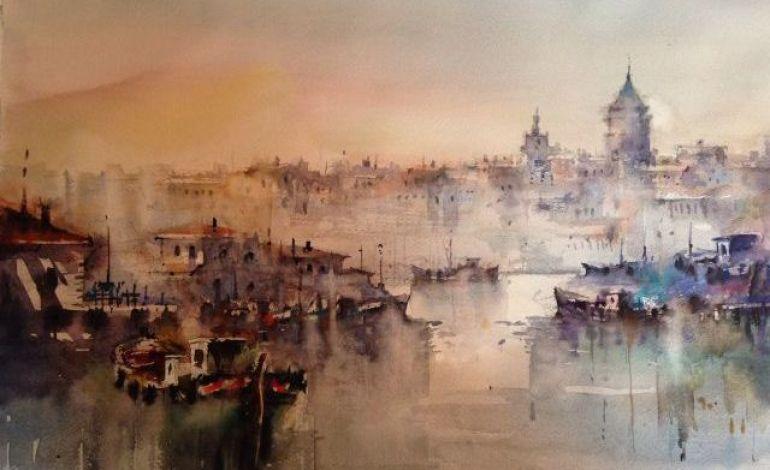 Sait Günel Haliç, Bir İstanbul Senfonisi Resim Sergisi