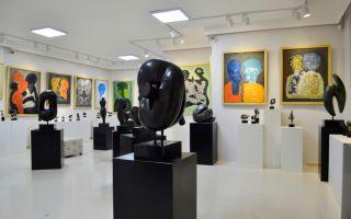 Ünlü Heykeltıraş Abdülkadir Öztürk'ün Eserleri Neva Art Gallery'de