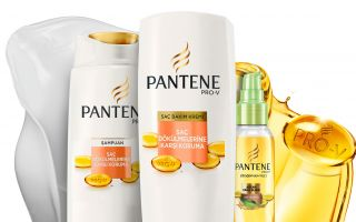 Pantene Pro-V Saç Dökülmelerine Karşı Koruma Serisi