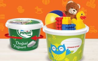 Pınar Yoğurt Ambalajları Çocukların Yeni Oyun Arkadaşı Olacak