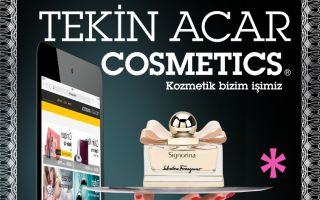 Tekin Acar Cosmetics'in Yeni Projesi