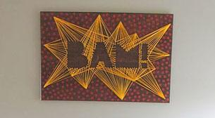 Masterpiece String Art - Bam!