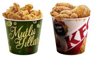 KFC'den Tavukseverlere Yeni Yıl Hediyesi!