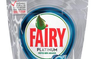 Yeni Fairy Platinum ile Bulaşıkları Sudan Geçirmeye Son!