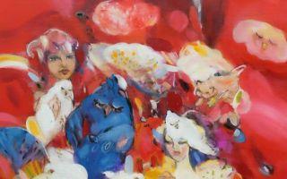 Funda İyce Tuncel'in Şairin Rüyaları İsimli Sergisi Galeri Eksen'de