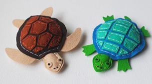 Peluş Kaplumbağalar