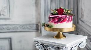 Şeker Hamuru Kaplama Pasta