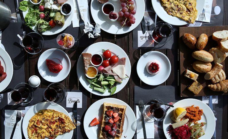 Hafta Sonu Kahvaltının Tadını Kulüp'te Çıkarın!