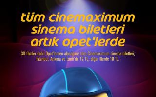 OPET ve Cinemaximum'dan 'Sinema Devrimi'