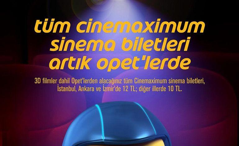 OPET ve Cinemaximum'dan 'Sinema Devrimi'
